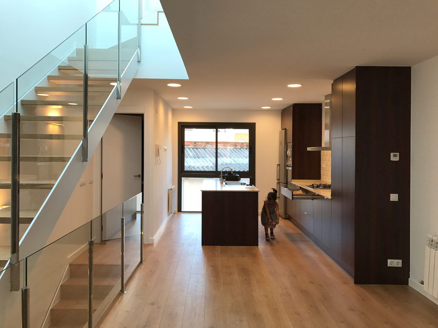Single-family housing reform in Barcelona
