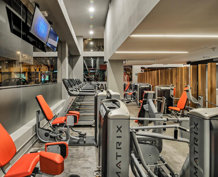gym architect in Barcelona