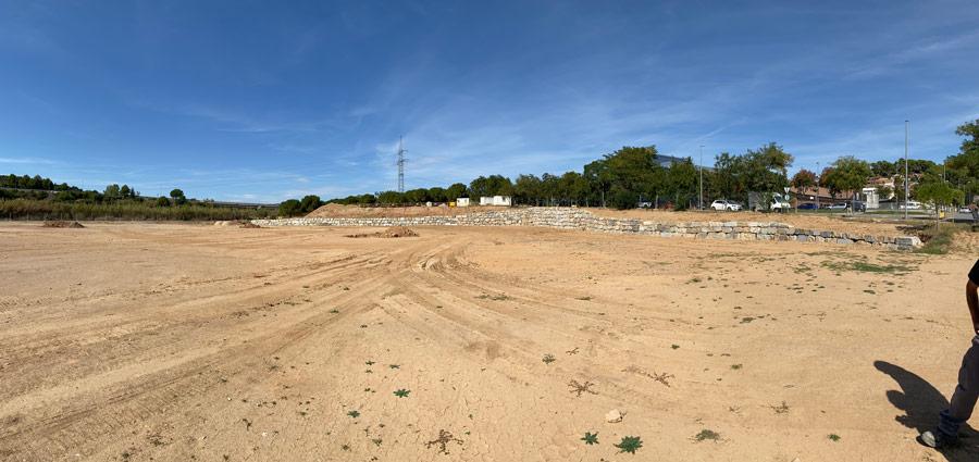 arquitectura per camp de rugby a Terrassa