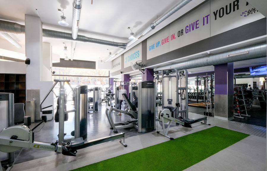 arquitectura per centre esportiu de fitness a la Ciutadella