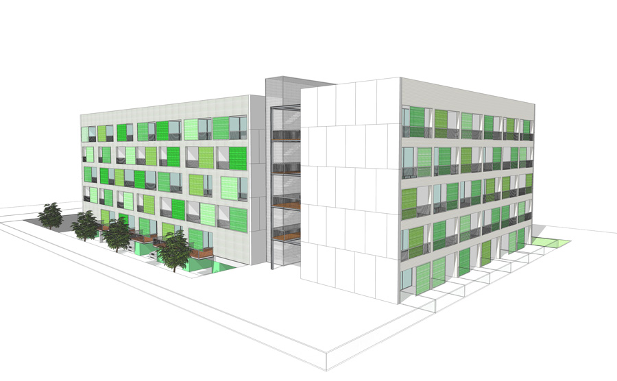 architecture, multi-family housing competition