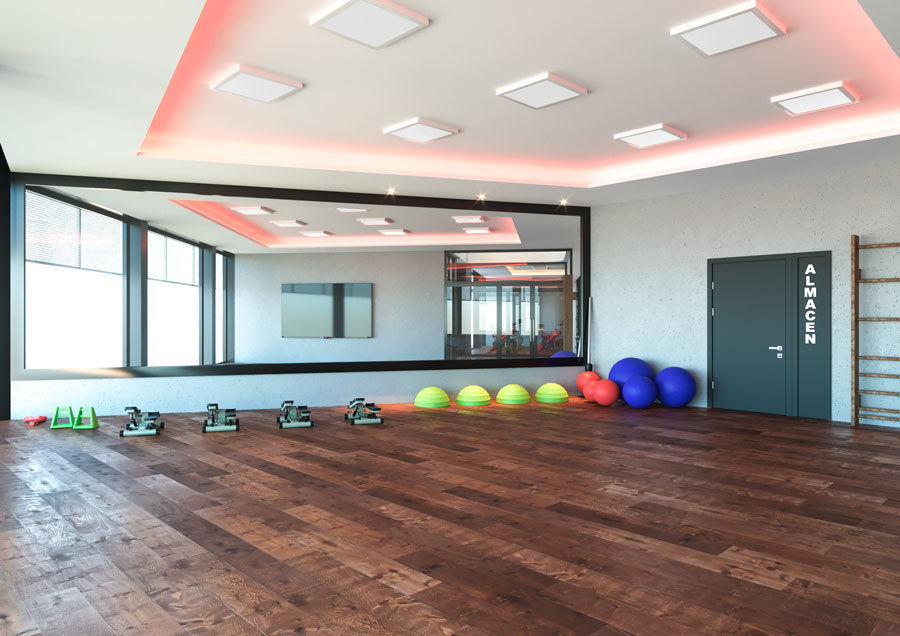 sports architecture, gym in Barcelona